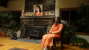 Rajahamsa Swami Nityananda Giri in Song of the Morning - A Yoga Retreat in Michigan, USA